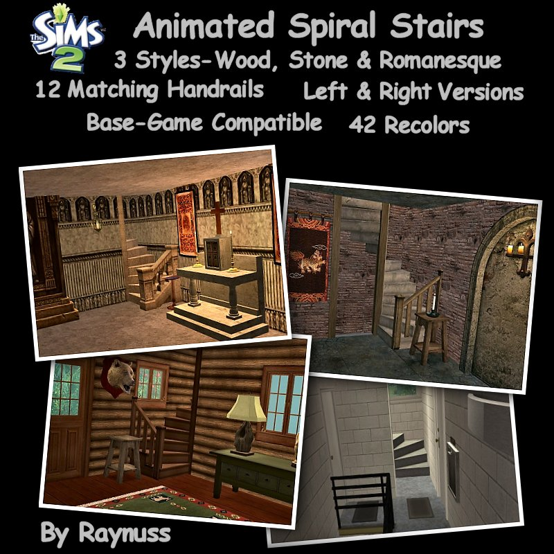 Spiral Staircase Dxf