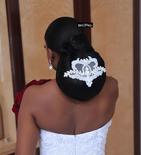 Oyinda Adenuga's white wedding