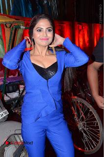Actress Naina Ganguly Stills in Blue Dress at RGV Shiva to Vangaveeti Event  0008.JPG