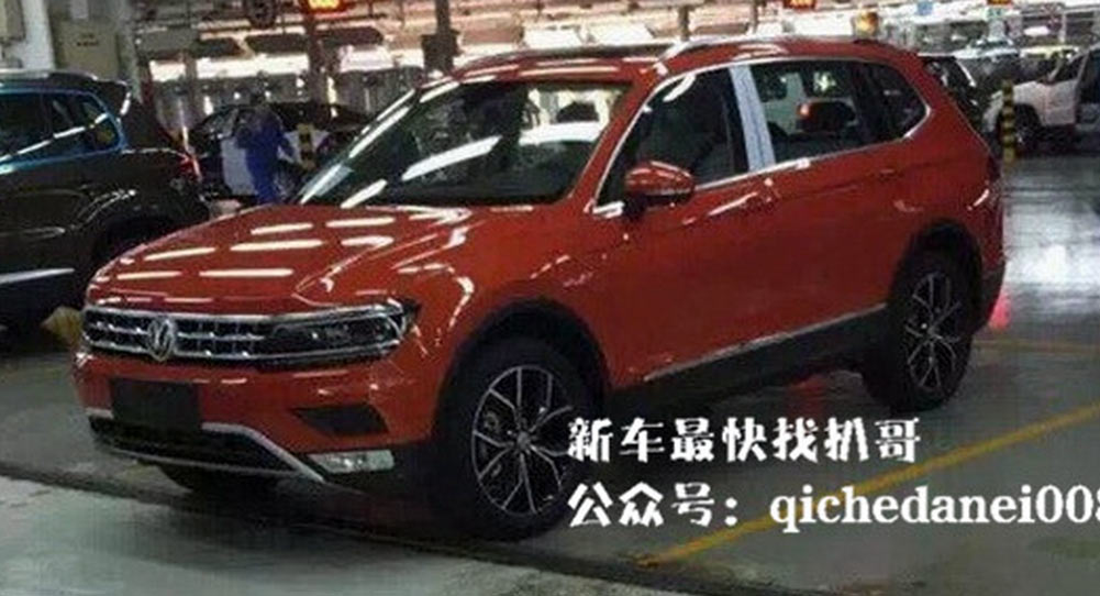 2017 VW Tiguan Long-Wheelbase With 7-Seats Uncovered, Will Come To USA