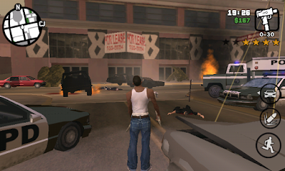 Grand Theft Auto San Andreas v1.08 APK Mod Data Obb