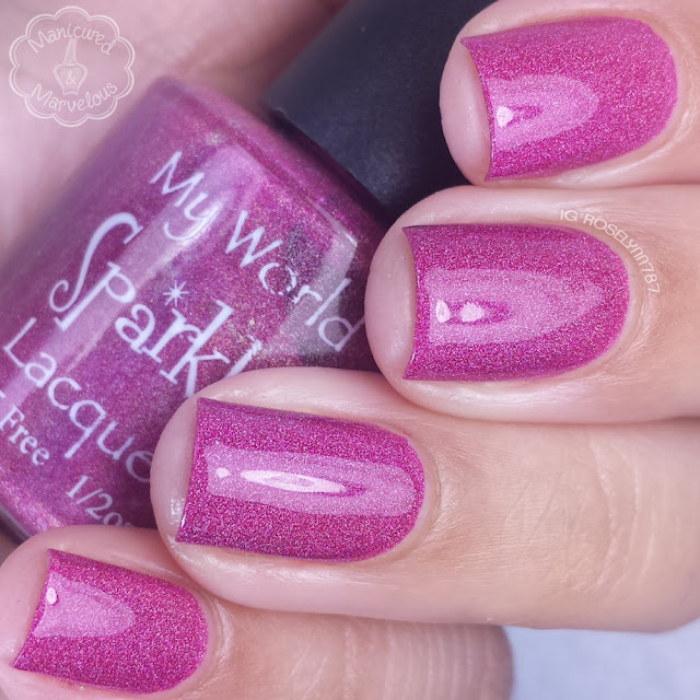 My World Sparkles Lacquers - Shinny Ornament