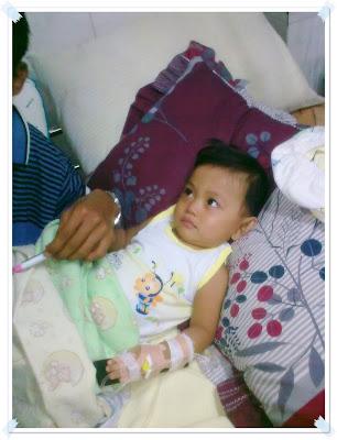 anak muntaber dan opname di RSU Haji Surabaya