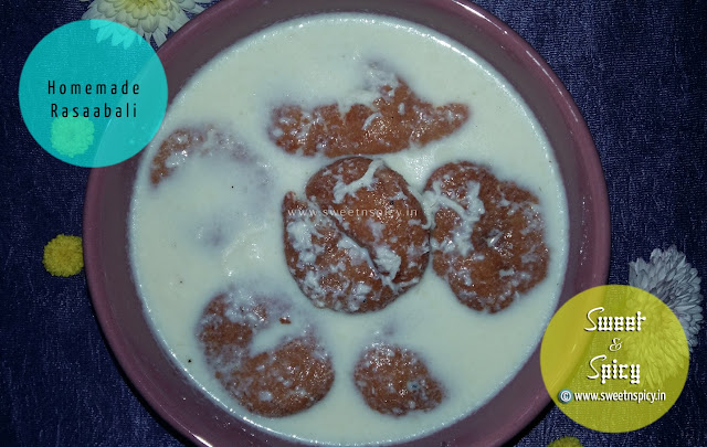 Rasabali - A Not To Miss Dessert from the Land of Odisha