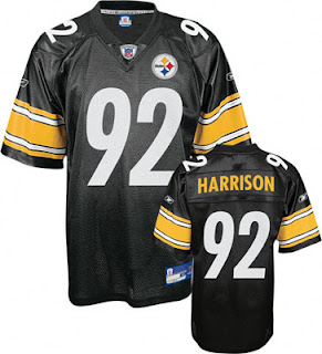 Big and Tall James Harrison Steelers Jersey