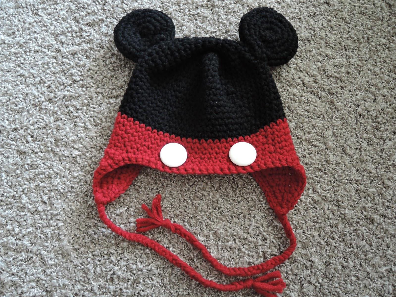 Yarnyessi Häkeln Mit Herz Mickey Mouse Mütze