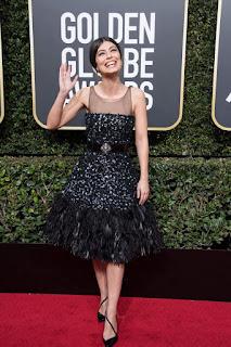 Alessandra Mastronardi At 75Th Annual Golden Globe Awards In Beverly Hills