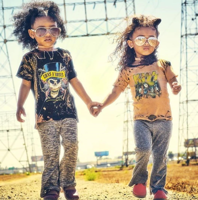 Photos: Chris Brown's daughter, Royalty, snags her first modeling gig
