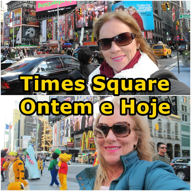Vídeo: Times Square, presente e passado!