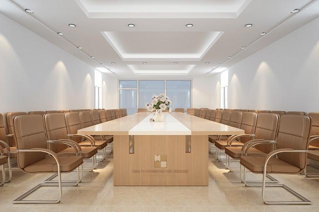 Thiết kế nội thất phòng họp đẹp sang trọng, đẳng cấp - H2