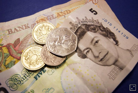 Sterling hits five-day high after UK retail sales smash forecasts