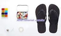 Material para pesonalizar sandálias e chinelos havaianas