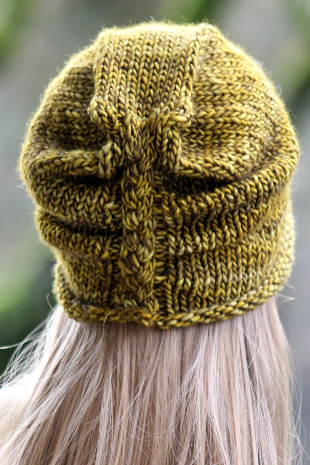 Balls to the Walls Knits: I\'m Lichen This Hat