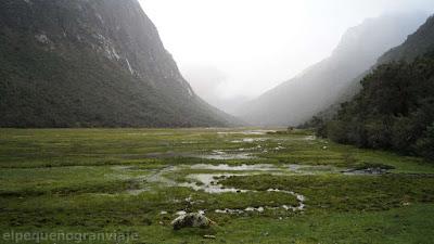 huaripampa, trekking, vaqueria, dia 4, jornada, agua, valle