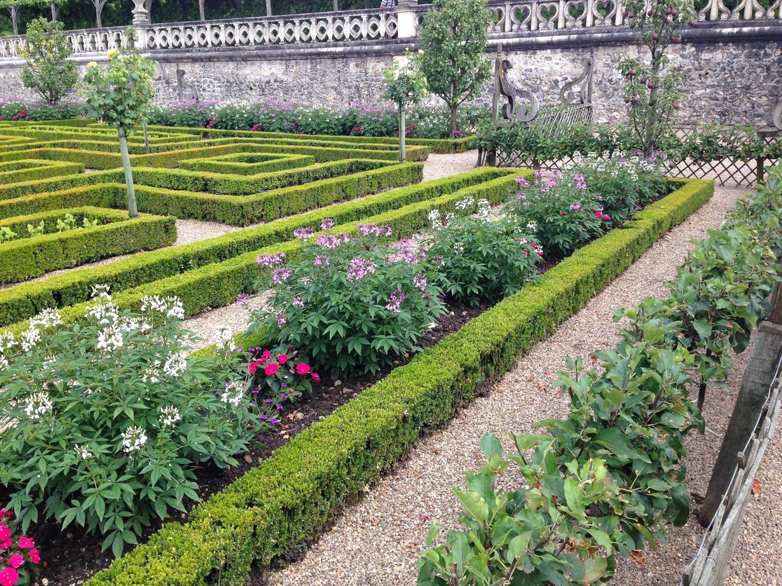 ziołowe ogrody Villandry