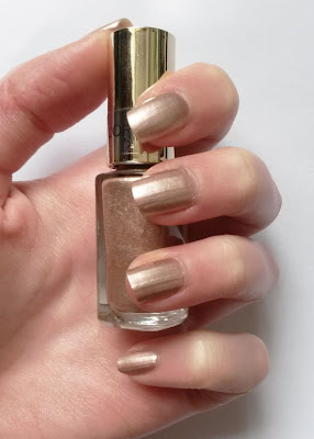 Versailles Gold, Color Riche L'Oréal swatch