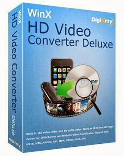 WinX HD Video Converter Deluxe Crack Free Download