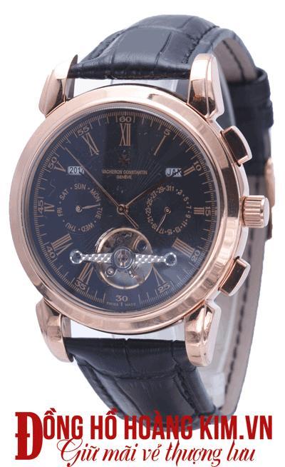 đồng hồ nam dây da mặt tròn bán chạy