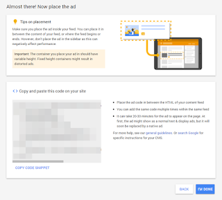 How to Install Google AdSense In-Feed Ads