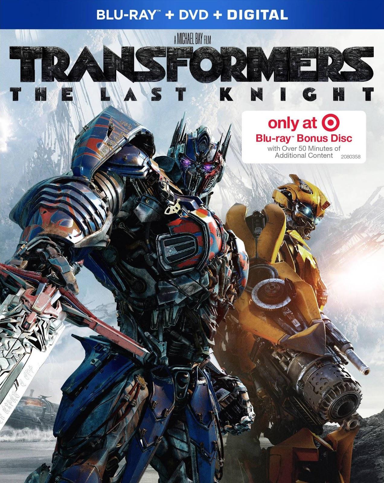 Transformers El Ultimo Caballero 1080p BD25 LATINO
