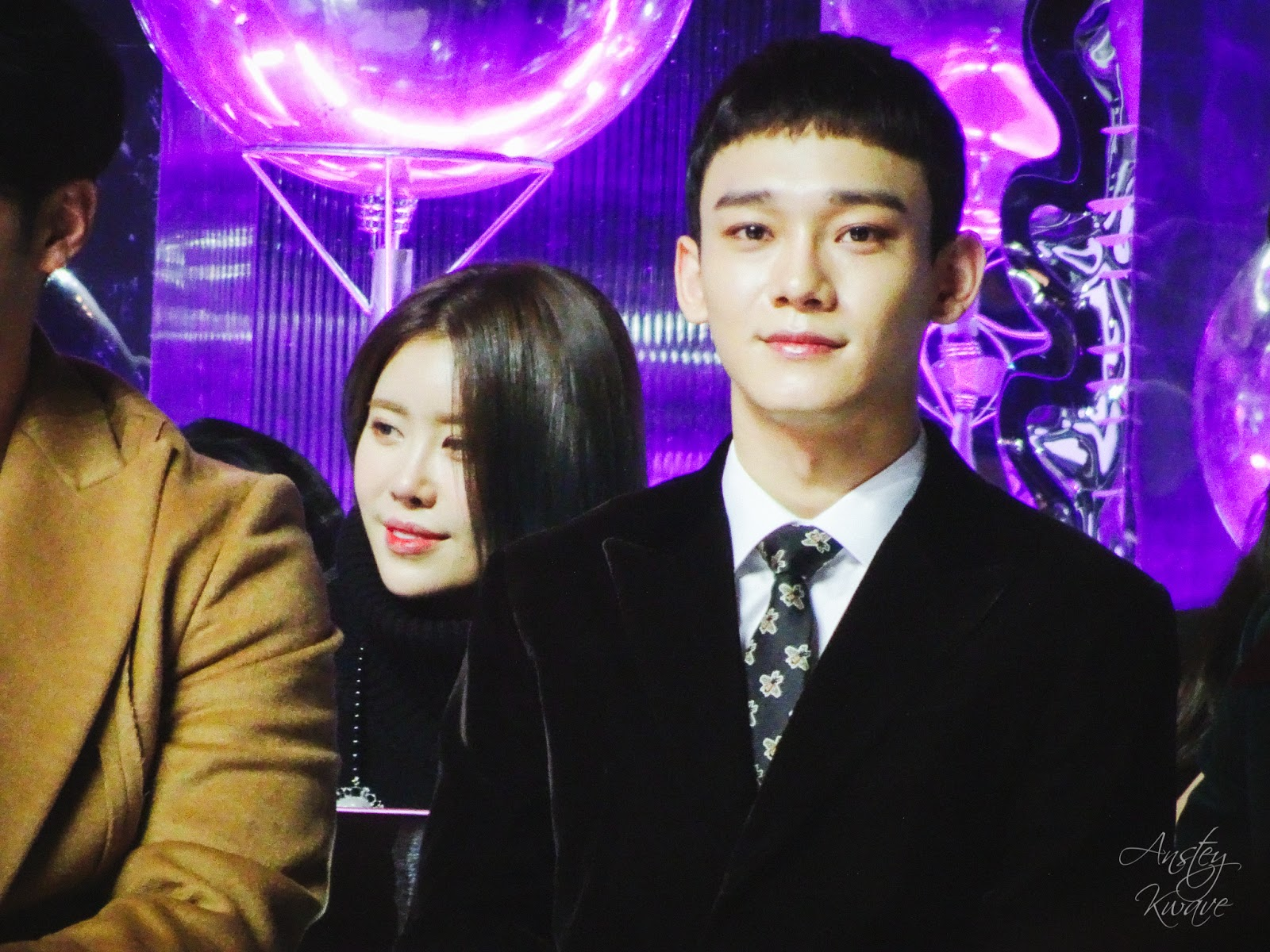Chen, member of famous Korean boy band EXO at Melon Music Awards (MMA) 2017 in Seoul, South Korea