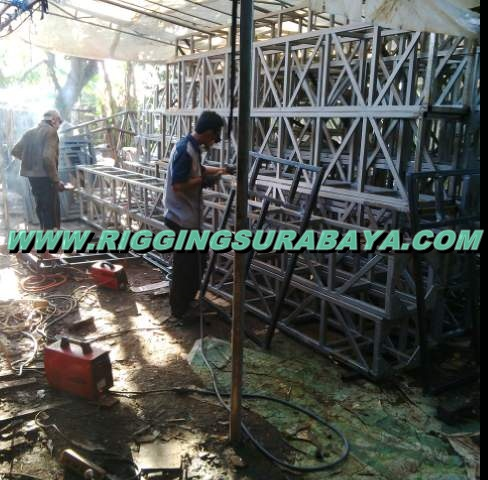 jasa las besi hollow pagar rigging
