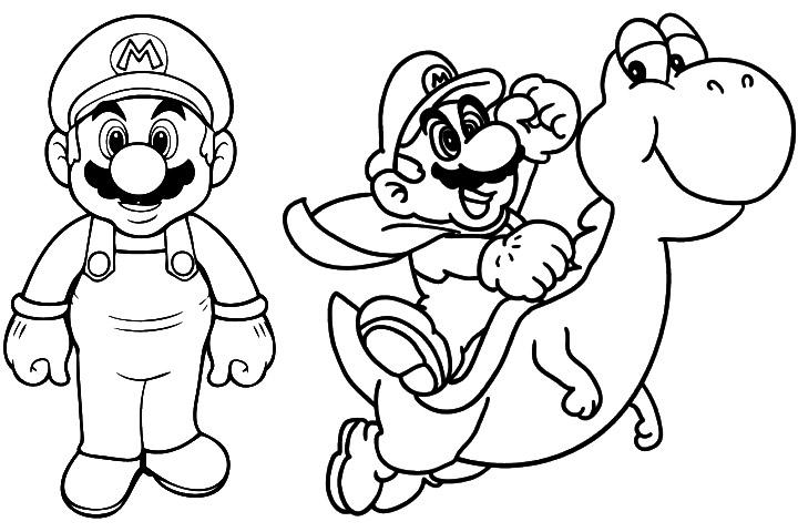 Super mario bros koopalings coloring pages coloring pages for Super mario 64 coloring pages