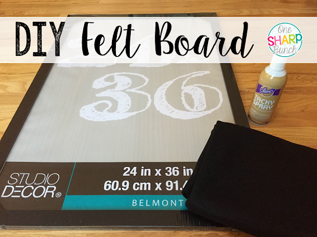 Step-by-step DIY felt board perfect for retelling your favorite stories!