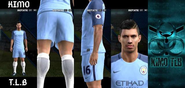 PES 2013 Manchester City Kit Season 2016/17