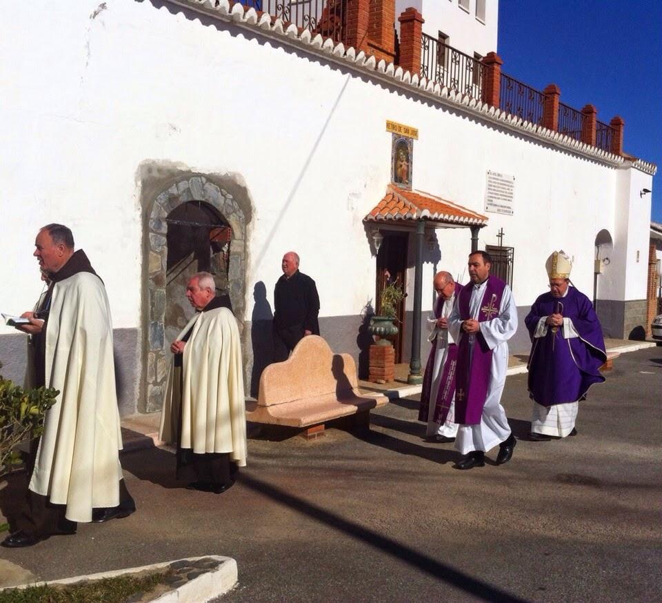 SEMANA SANTA DE BAZA El Obispo mantiene un encuentro con