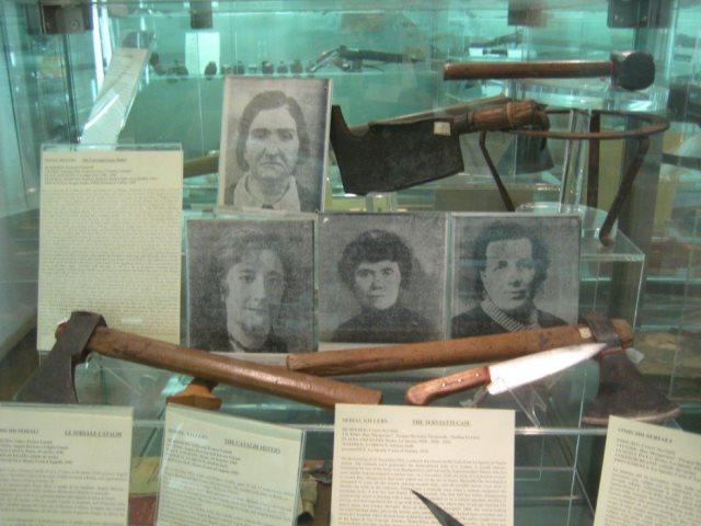 Leonarda Chianculli asesina en serie museo de Roma