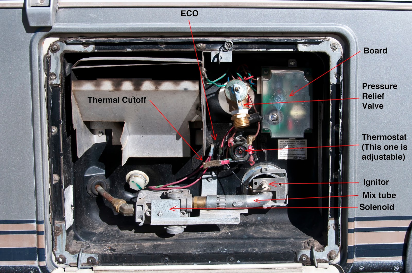 atwood gas water heater wiring diagram cat 5 for telephone the lazy daze companion hot intro