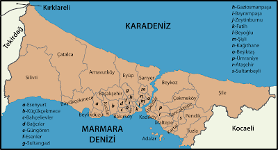 Istanbul's Districts