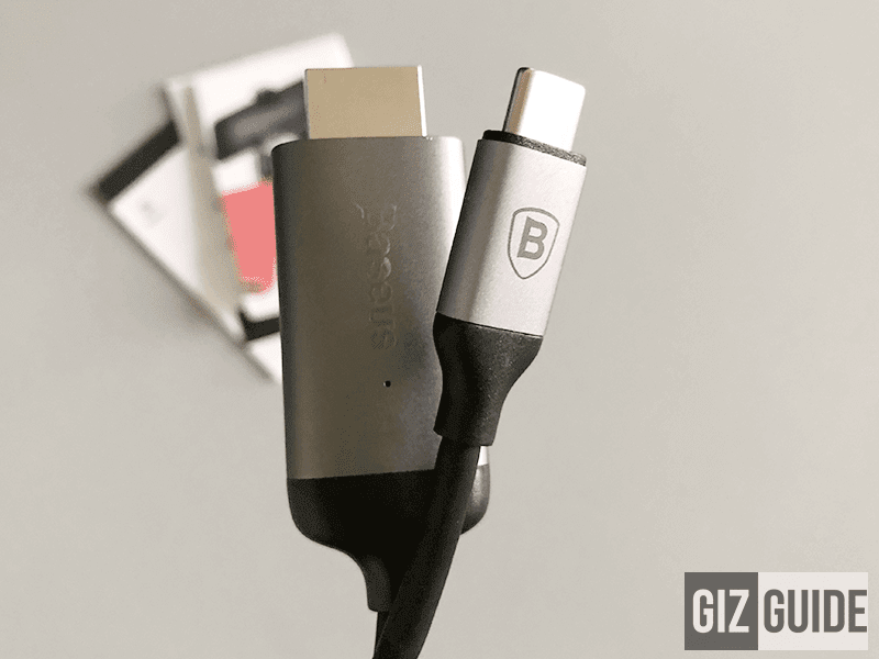 Meet Baseus USB Type-C to HDMI cable, the tool that can transform your Mate 10 to a PC