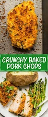 CRUNCHY BAKED PORK CHOPS | KAMILA KITCHEN