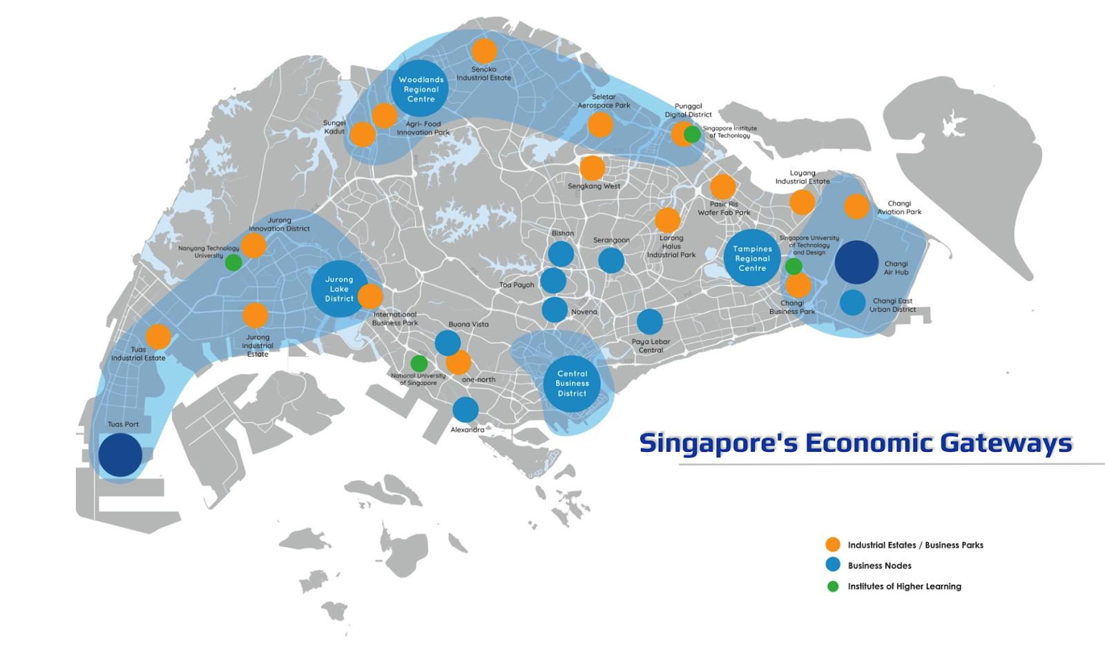 Singapore Economic Gateways - DMP19
