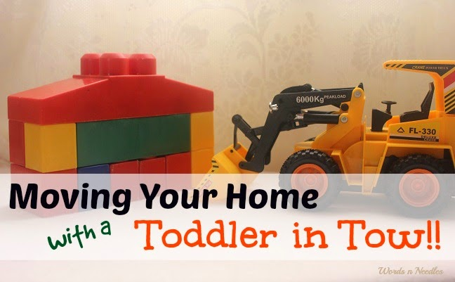 How to make moving to a new home easier with toddlers moving to a new home