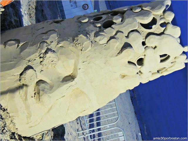 Esculturas de Arena de Revere Beach: Dunkaroos de Abe Waterman