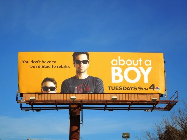 About a Boy TV remake billboard