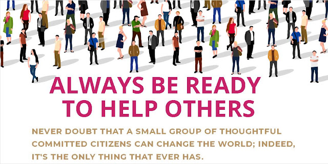 help each other , helping people , community help