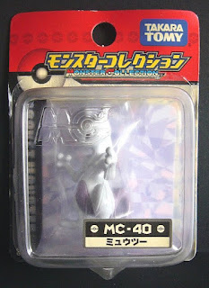 Mewtwo figure Takara Tomy Monster MC series