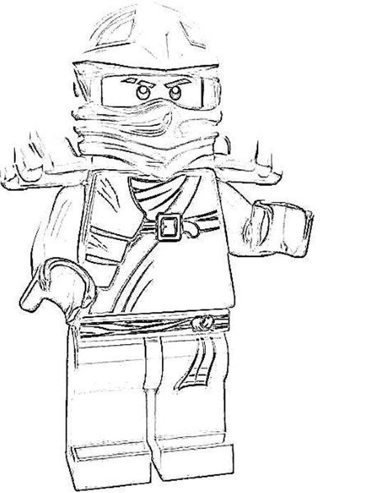 Lloyd Ninjago Coloring Page - Eskayalitim
