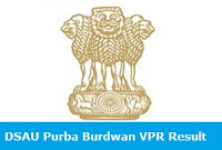 DSAU Purba Burdwan VPR Result