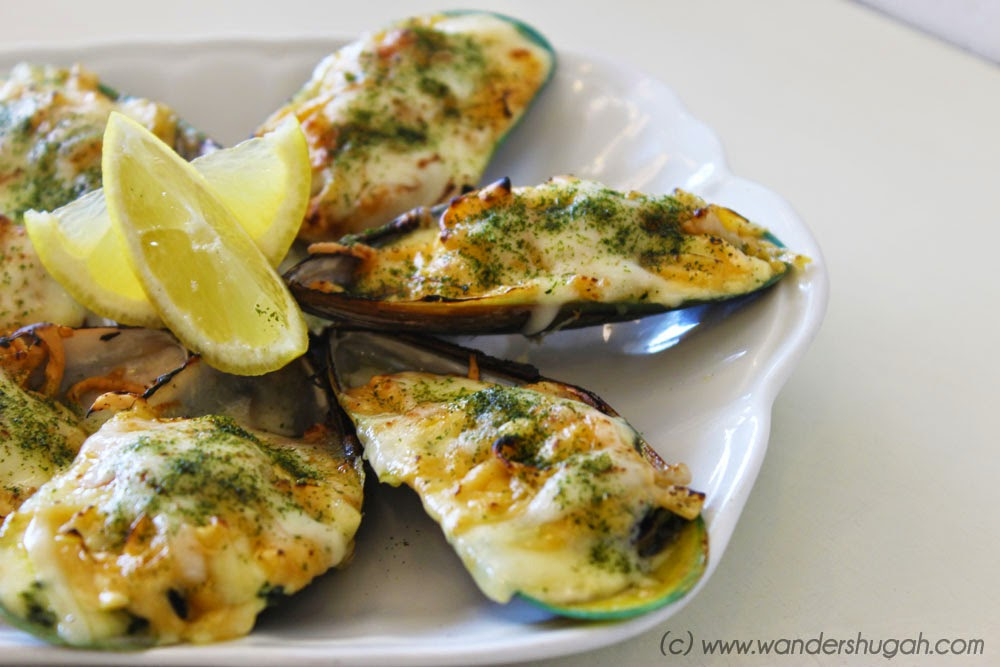 Baked Mussels of Sab Bistro, Angeles City, Pampanga