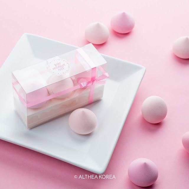 Althea, korea, k-beauty, beauty sponge, pink, beauty tool, cake, blend, foundation