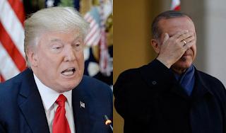 Ο Τραμπ «σκοτώνει» τον Ερντογάν - Διπλασίασε τους δασμούς για χάλυβα και αλουμίνιο