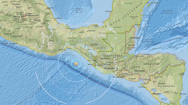 Un sismo de magnitud 5,6 se registra cerca de las costas de México