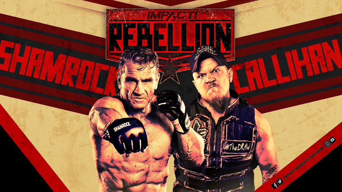 Impact Wrestling anuncia primeiros combates para o Rebellion