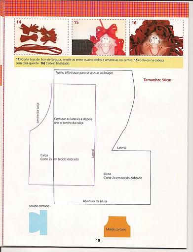 Revista+feltro+compartilhar+006 - molde boneca de feltro