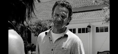 La cara de Rick es un cuadro, incluso en blanco y negro xD.